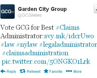 In A Tweet On Wednesday, The Garden City Group, Assigned As The Claims  Administrator For U.S. Full Tilt Poker Players, Issued A Tweet Asking For  Votes To Be ...