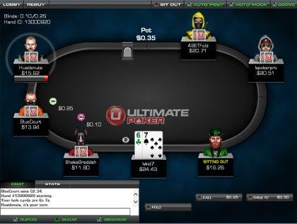 Color up poker dashboard