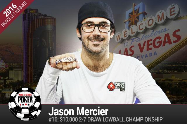 WSOP: Jason Mercier Leading POY, Benny Glaser Distant Second