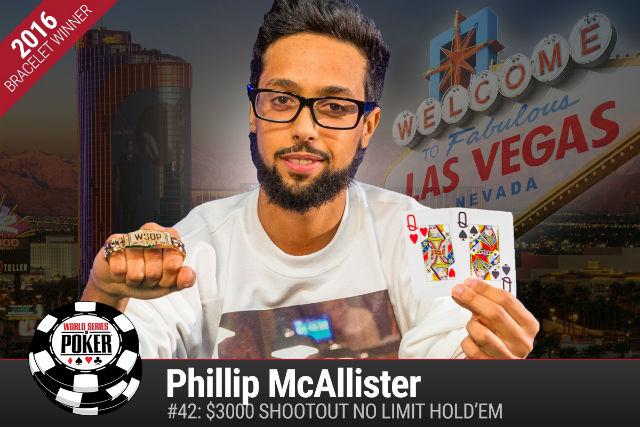 WSOP: Phillip McAllister Wins Gold, Justin Bonomo Leads Stud Hi-Lo