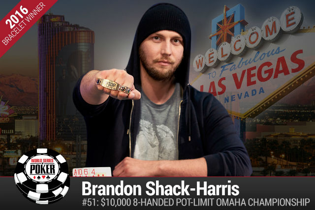 WSOP: Brandon Shack-Harris Wins Pot Limit Omaha Championship