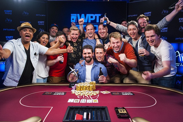 Andreas Olympios Survives Wild Ride to Win WPT500 for $260,000