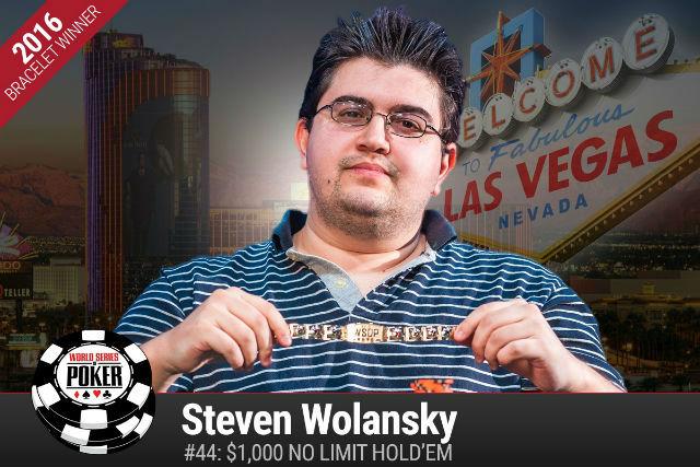 WSOP: After Second Bracelet, Steven Wolansky Wants Main Event Run