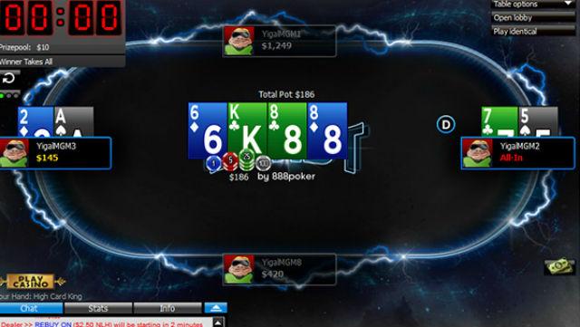 888 Poker Raises BLAST Poker Max Prize to $1M for Holiday Season