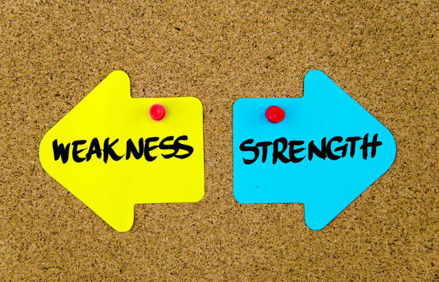 weaknesses and strengths