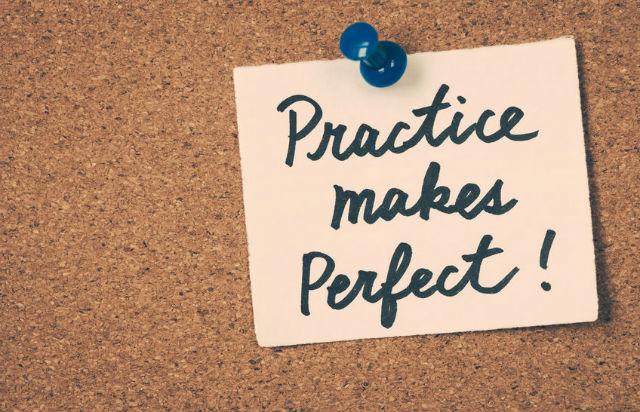 3 tâm lý - 594735 practice makes perfect - Rèn luyện tâm lý tự tin khi thi đấu bóng đá