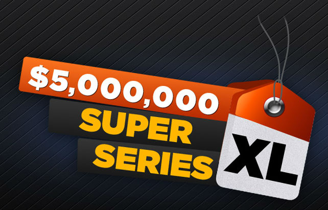 888poker's January Super XL Series VII Boasts $5M in Guarantees