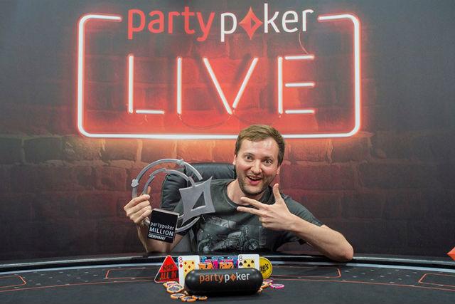 Michal Mrakeš takes down partypoker LIVE MILLION Germany for €200K