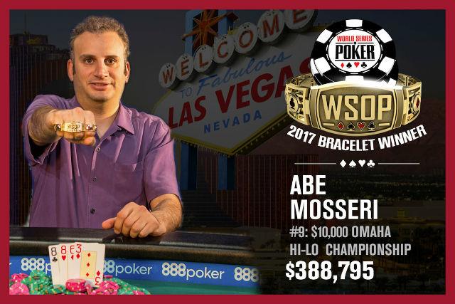 WSOP: Negreanu denied by Mosseri, Pomponio Takes Down Colossus
