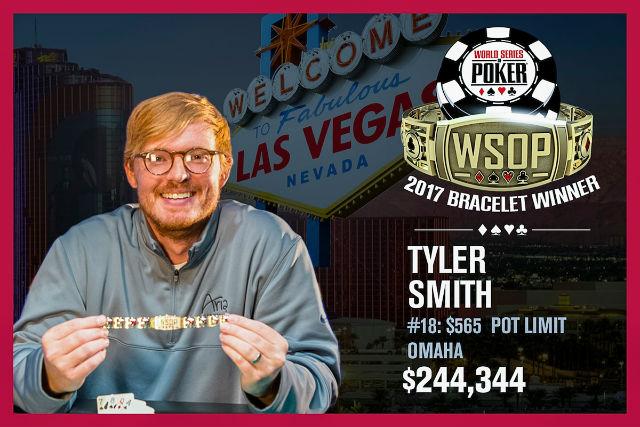 WSOP: Tyler Smith wins PLO bracelet in record-breaking event