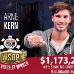 Arne Kern WSOP 2018
