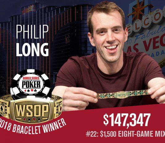 Philip Long, WSOP