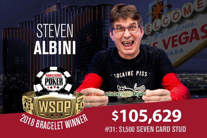 Steve Albini WSOP
