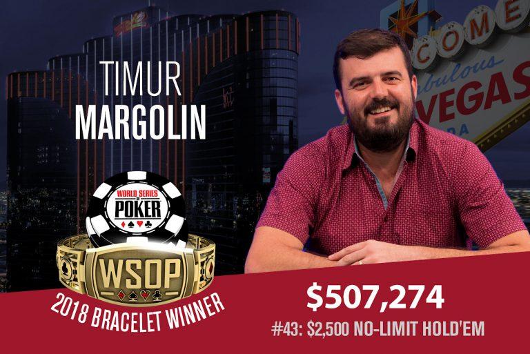 WSOP: Margolin Wins First Bracelet, Denies Bojang, Ferguson, Laplante