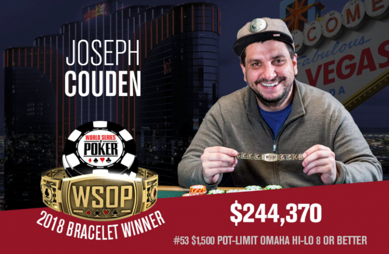 WSOP: Couden Tops Elezra, Matusow, Negreanu To Win $1,500 PLO 8