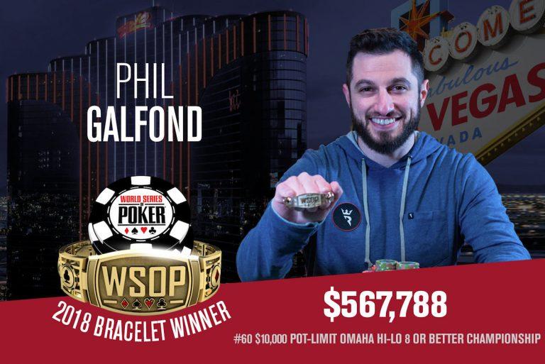 WSOP: Galfond and Bellande Bag Bracelets