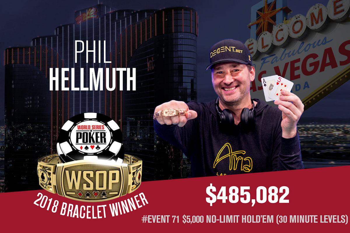 Phil Hellmuth Bracelets
