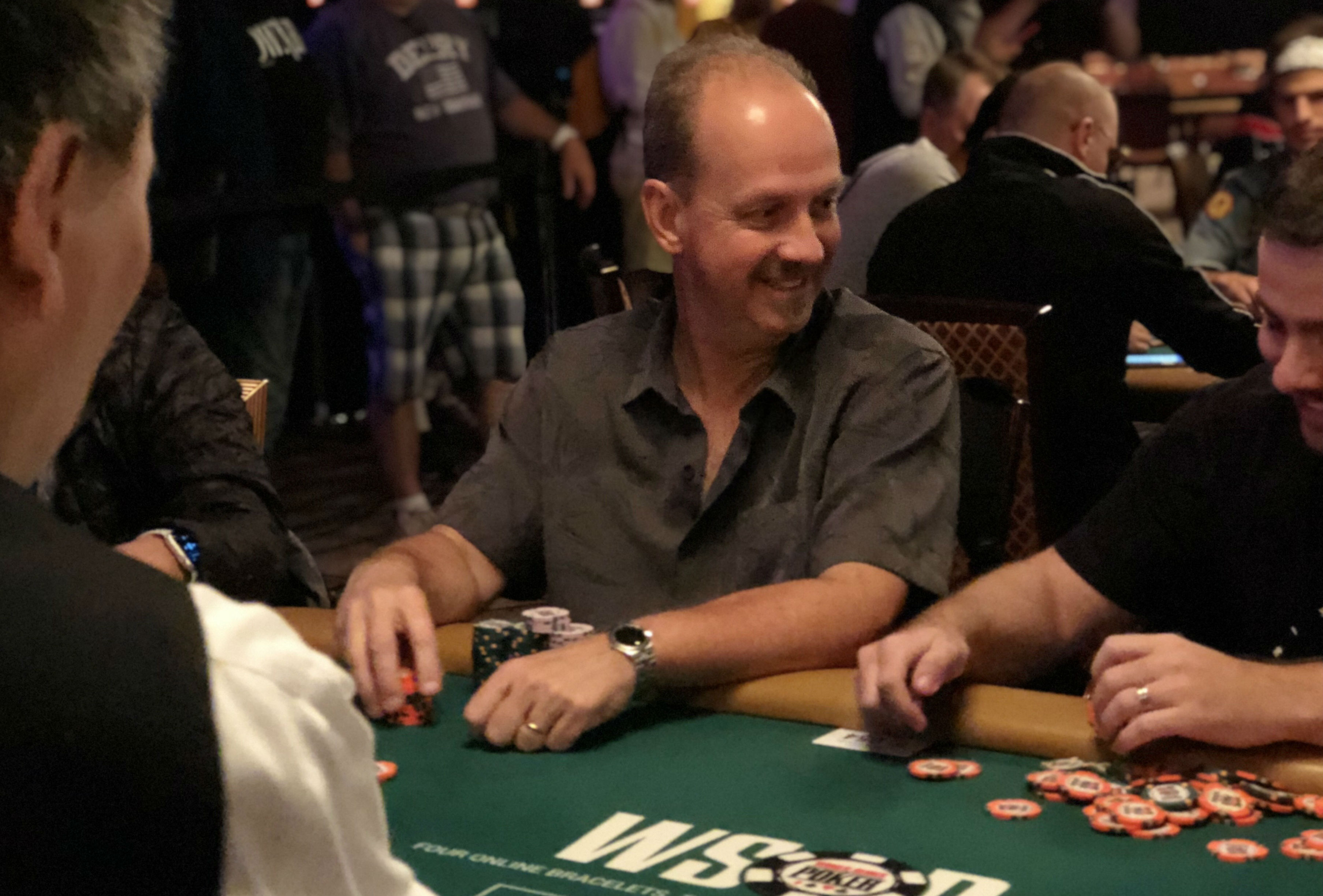 WSOP: Long Hours of the Main Event Don't Bother Roger