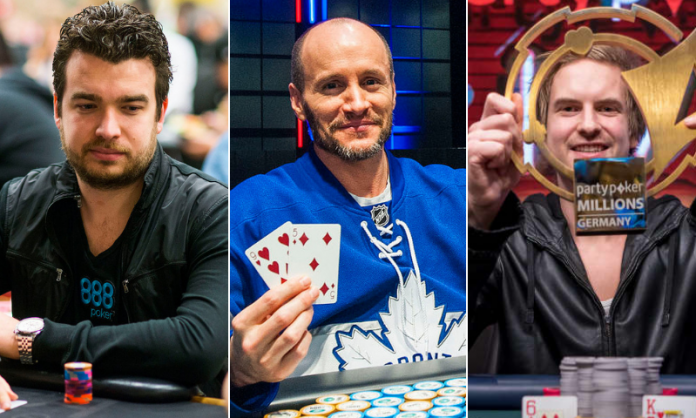 Chris Moorman, Mike Leah, and Viktor Blom