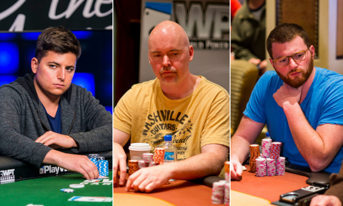 Jake Schindler, John Hennigan, and Nick Petrangelo