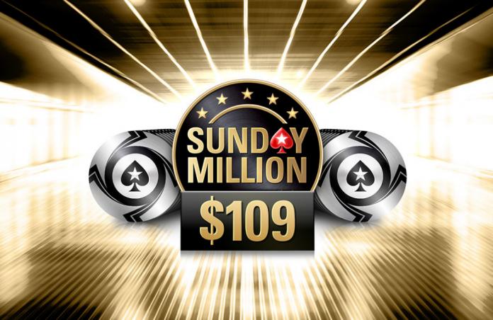 New Sunday Million Buy-In
