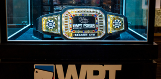 WPT Gardens Poker Championship Belt