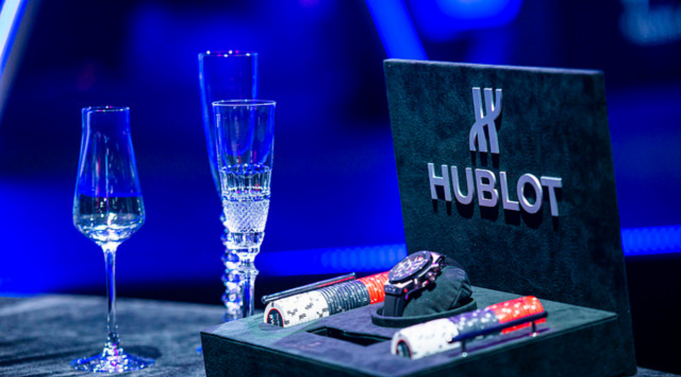 Hublot WPT Player of the Year and Baccarat Crystal