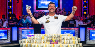 Hossein Ensan wins the 2019 WSOP Main Event