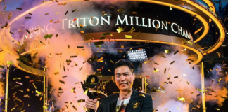 Aaron Zang wins Triton Million