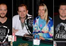 Sean Winter, Keith Brennan, Jessica Dawley, and Shaun Deeb