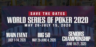 WSOP Announces 2020 Dates