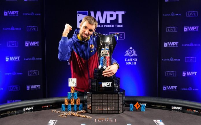 Aleksey Badulin wins WPT Russia