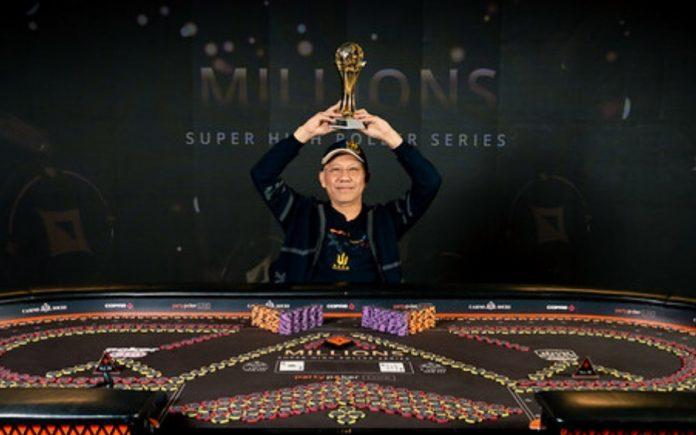 Paul Phua wins MILLIONS Super High Roller Sochi $100,000 NL