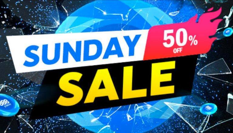 888poker's Sunday Sale Returns With Half-Priced Marquee Tournaments