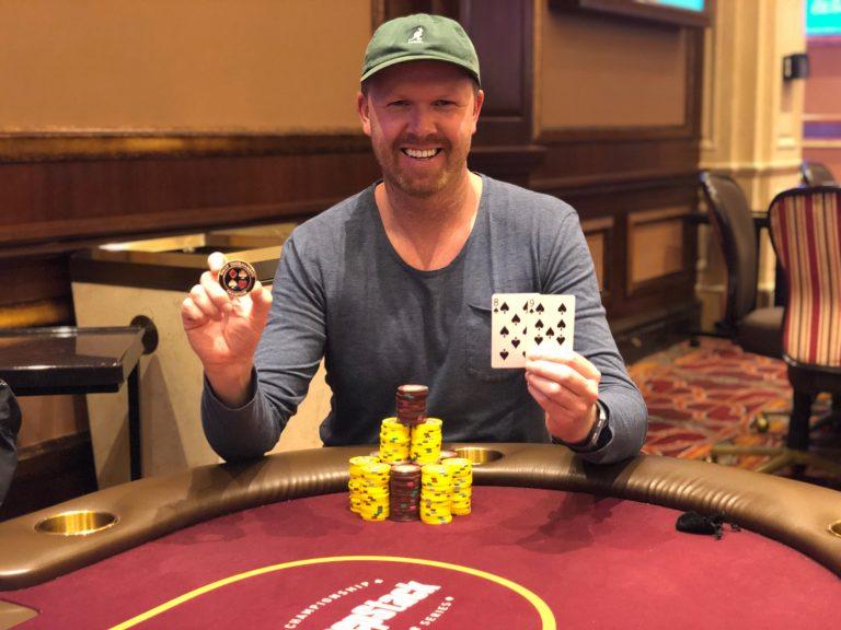 WSOP: Trygve Leite Dominates $300 Double Stack Final Table