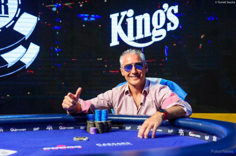 Damian Salas Conquers 2020 WSOP Main Event International Leg