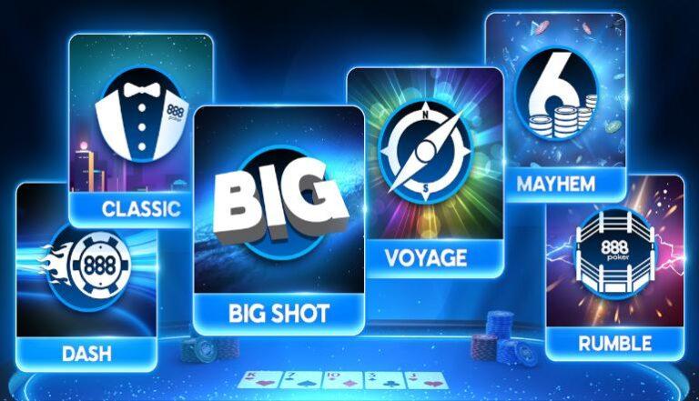 888poker Revamps, Rebrands Entire Tournament Schedule