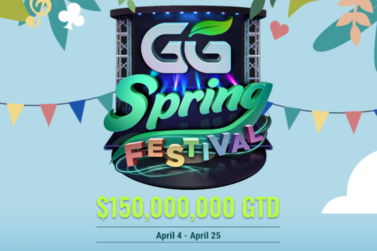 GGPoker Spring Festival Features 110 Events, $150M Guaranteed