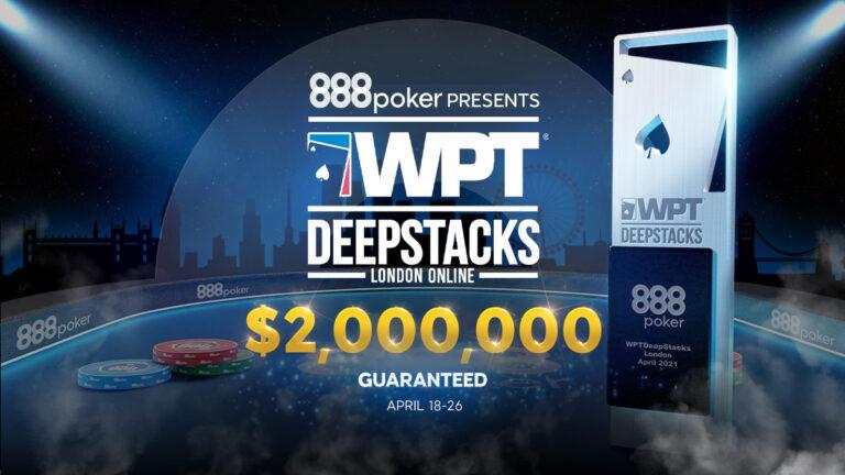 888poker Hosting Online WPTDeepStacks Series in April