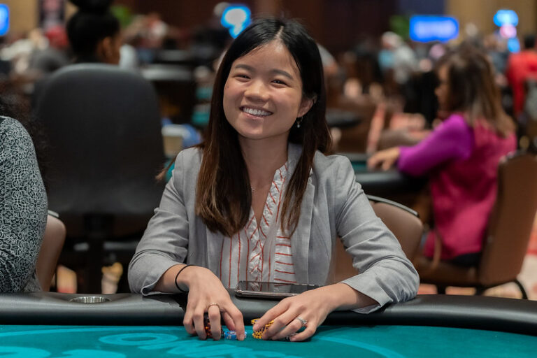 Cathy Zhao Gives World Poker Tour Their Own Rising Star