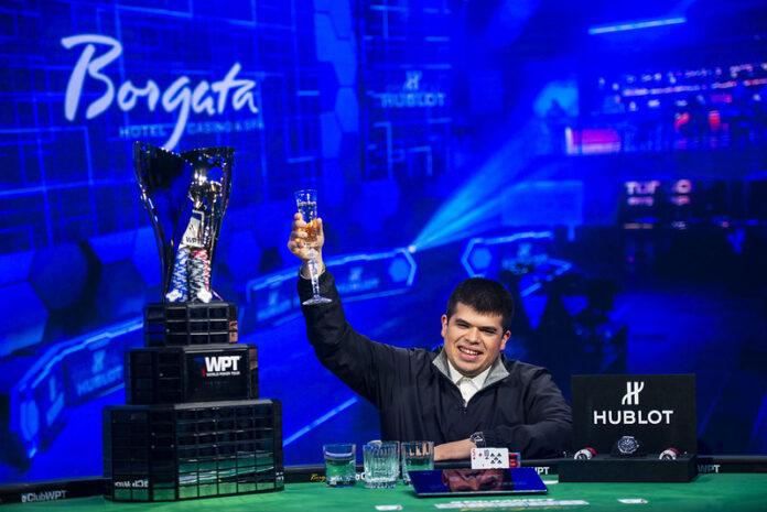 Veerab Zakarian world poker tour borgata