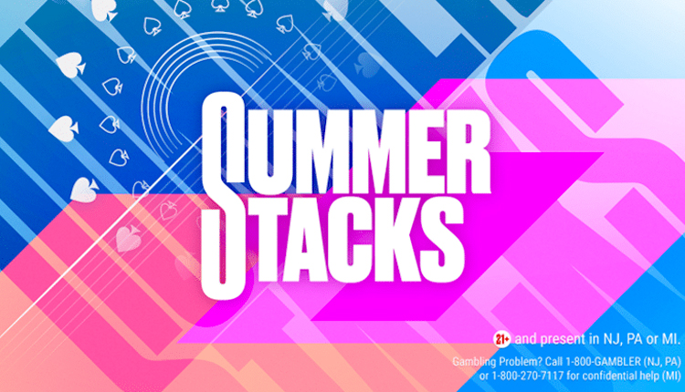 Inaugural PokerStars USA Summer Stacks Festival Guarantees $2.5M