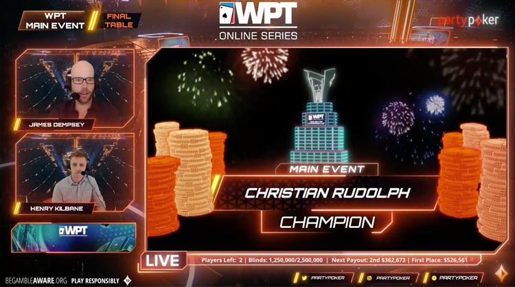 WPT Online Series Main Event