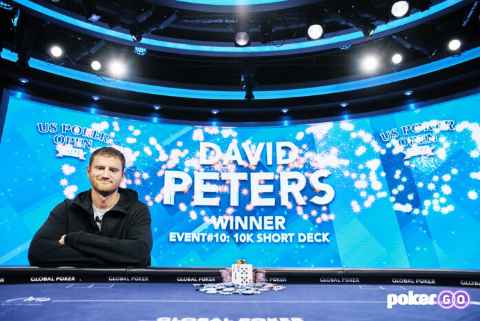 david peters us poker open short deck event 10