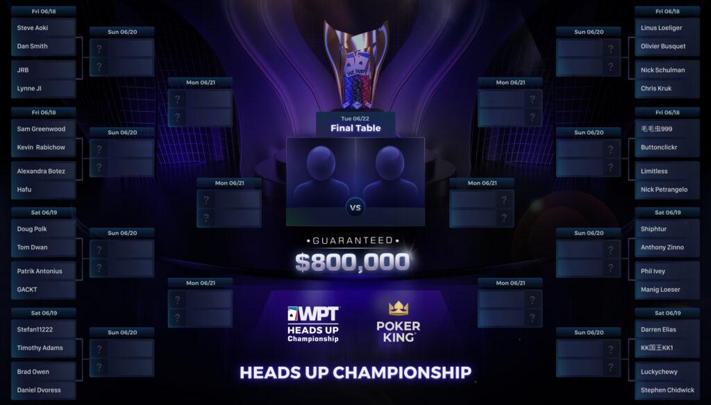 world poker tour 25k heads up championship bracket
