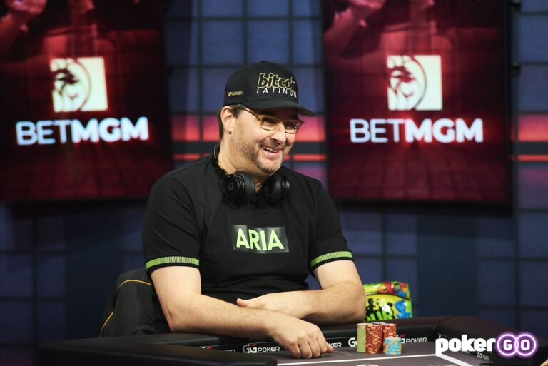 Phil Hellmuth Beats Nick Wright in Round 1 of High Stakes Duel III