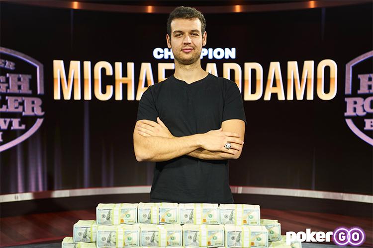 Michael Addamo Wins Super High Roller Bowl VI for $3.4 Million